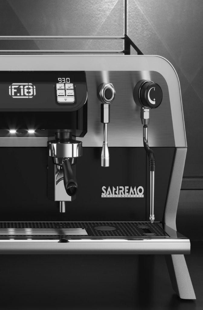 SanRemo F18 espresso machine